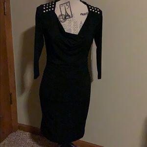 NWT Boston Proper black dress; sz 4